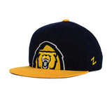 Cal Golden Bears Snapback Zephyr Youth Peek Cap Hat Navy Yellow