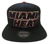 Miami Heat Snapback 2013 NBA Draft Black Cap Hat