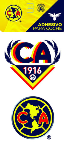 Club America Auto Decal