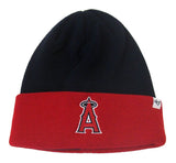 Anaheim Angels Beanie 47 Brand Fold Cap Navy Red