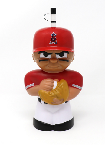 Anaheim Angels 16 oz. 3D Character Teenymates Big Sip Bottle