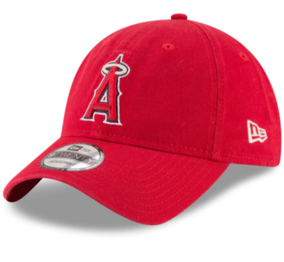 Anaheim Angels Strapback New Era 9Twenty Core Class Cap Hat Red
