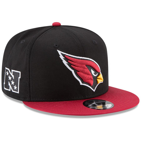 Arizona Cardinals Snapback New Era 9Fifty Baycik Black Red Cap Hat