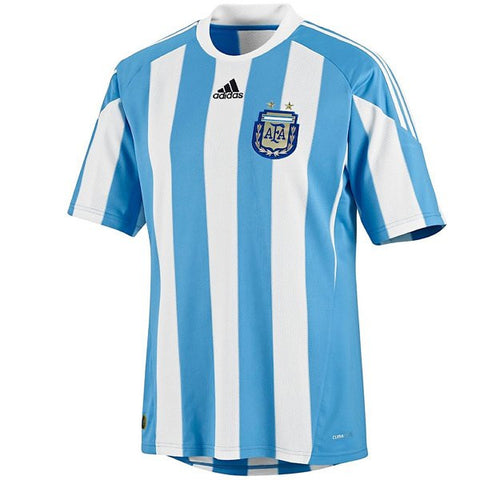 Argentina Mens Jersey Adidas 2010 World Cup Home Jersey Blue