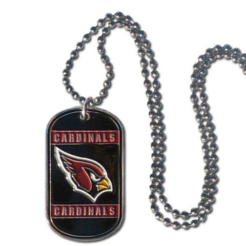 Arizona Cardinals Dog Tag Necklace