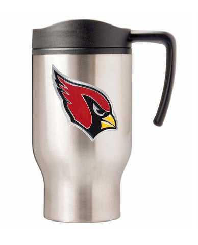 Arizona Cardinals 16oz Stainless Steel Logo Tumbler Travel Mug Cup