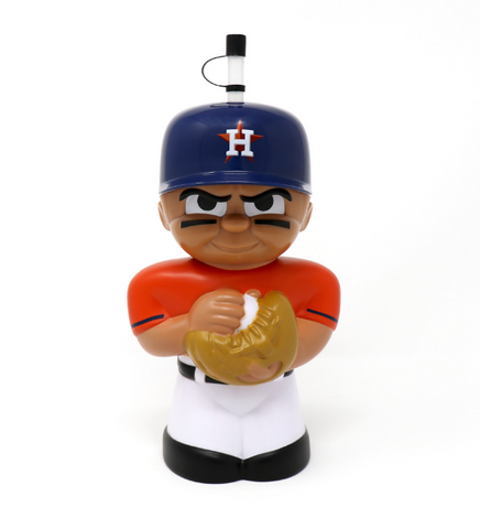 Houston Astros 16 oz. 3D Character Teenymates Big Sip Bottle