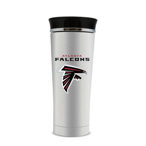 Atlanta Falcons 18oz Stainless Steel Free Flow Tumbler Travel Mug Cup