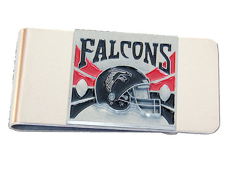 Atlanta Falcons Stainless Steel Money Clip