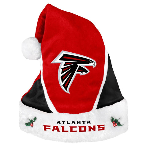 Atlanta Falcons NFL 2 Tone Santa Hat Red Black