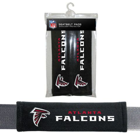 Atlanta Falcons Seat Belt Shoulder Pad Covers