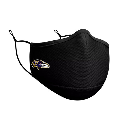 Baltimore Ravens New Era Face Mask Black
