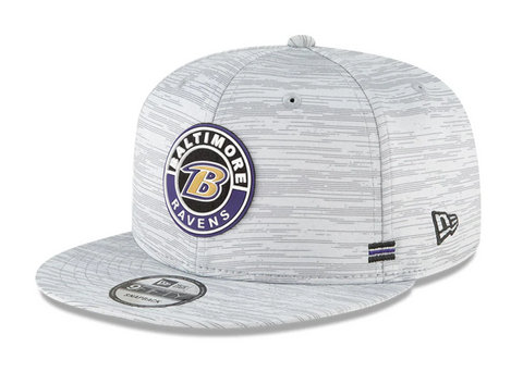 Baltimore Ravens Snapback New Era 9Fifty 2020 Fall Sideline Hat Cap