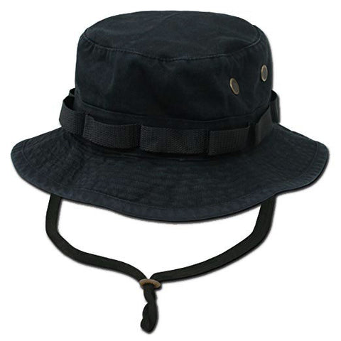 Rapid Dominance Genuine Military Boonie Bucket Hat Black