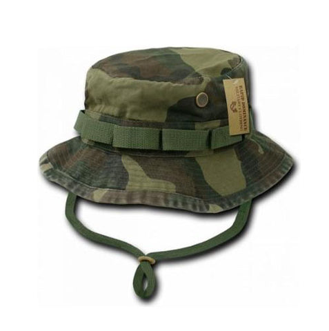 Rapid Dominance Genuine Military Boonie Bucket Hat Camo