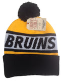 Boston Bruins Beanie AMERICAN NEEDLE Voice Call POM Knit Ski Cap Hat