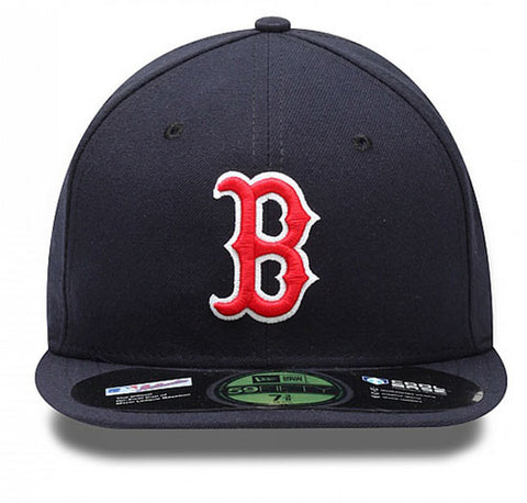 Boston Red Sox Youth Fitted New Era Cap Hat Navy