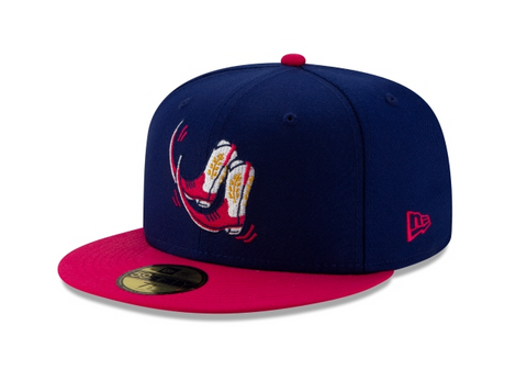 Amarillo Sod Poodles Pointy Botas Fitted New Era 59Fifty Copa de la Diversion