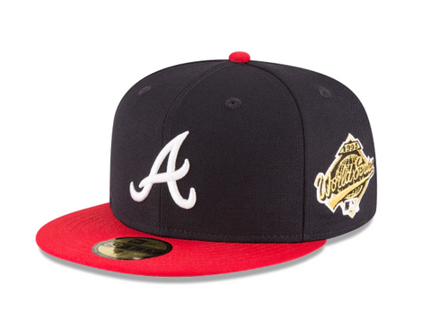 Atlanta Braves Fitted New Era 59FIFTY 1995 World Series Cap Hat