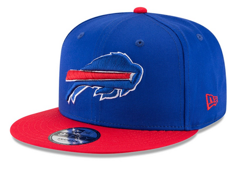 Buffalo Bills Snapback New Era 9Fifty Basic Blue Red Cap Hat