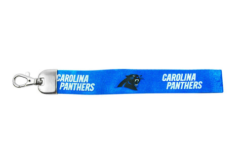 Carolina Panthers Keychain Wristlet Lanyard