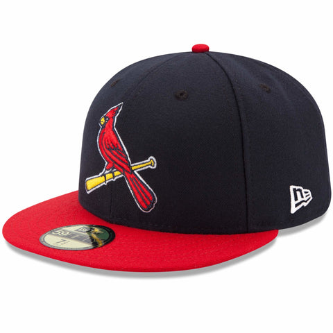 St. Louis Cardinals Fitted New Era 59Fifty 2 Tone Navy Red Cap Hat