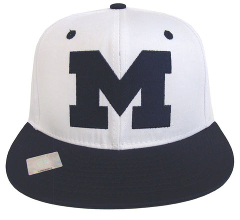 Michigan Wolverines Snapback 2 Tone Cap WN