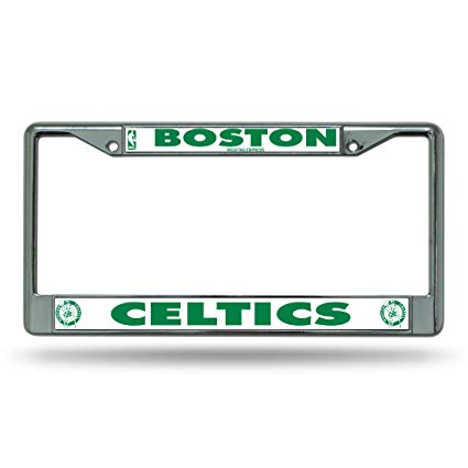 Boston Celtics Chrome Auto Licensed Plate Frame