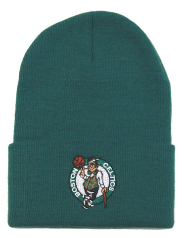 Boston Celtics Beanie Fold Cuff Knit Ski Cap Hat Green
