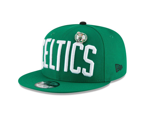 Boston Celtics Snapback New Era 9Fifty Pinned Green