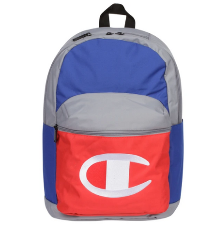 Champion Block Backpack Grey Multi