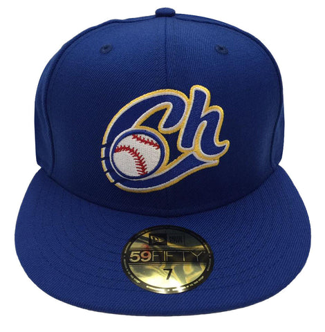 Charros De Jalisco Fitted New Era 59Fifty LMP New Era 59Fifty Blue Hat Cap