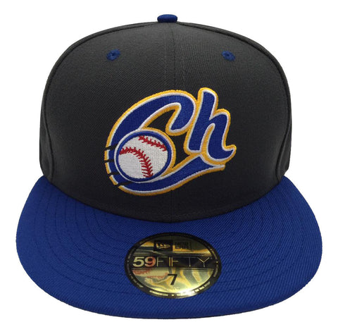 Charros De Jalisco Fitted New Era 59Fifty LMP Charcoal Blue Hat Cap