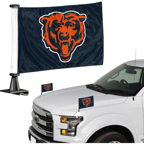Chicago Bears Auto Ambassador Flag Set