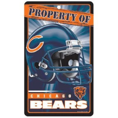 Chicago Bears Bar and Home Decor Property of Sign