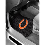 Chicago Bears 2-Pack Vinyl Car Mat Set
