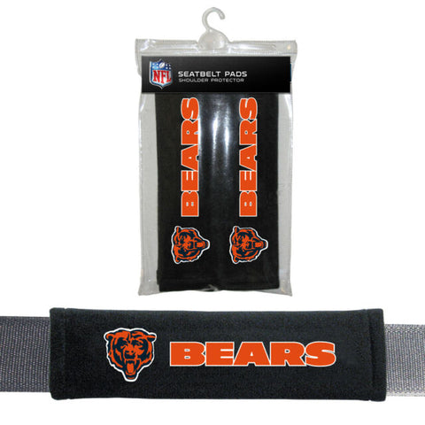 Chicago Bears Seat Belt Shoulder Pad Covers