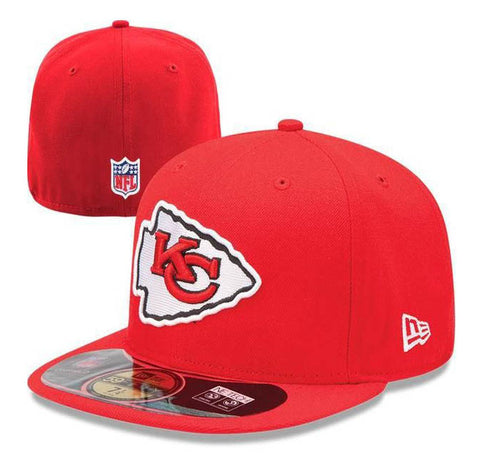 Kansas City Chiefs Kids Fitted New Era 59Fifty On Field Hat