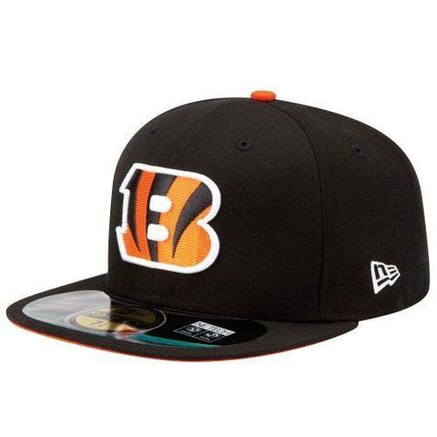 Cincinnati Bengals New Era 59Fifty Cap Hat Black