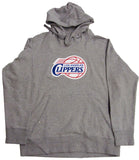 Los Angeles Clippers Mens Antigua Hooded Sweatshirt Grey