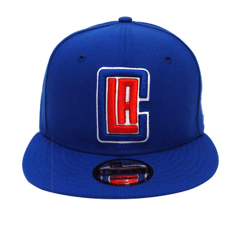 Los Angeles Clippers Snapback New Era Basic Cap Hat Blue