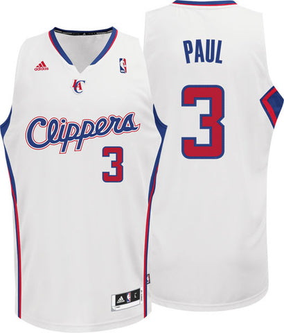 Los Angeles Clippers Mens Adidas Chris Paul #3 Swingman Jersey White