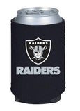 Oakland Raiders Can Holder Black
