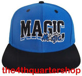 Orlando Magic Snapback Retro SL Cap Hat Blue Black
