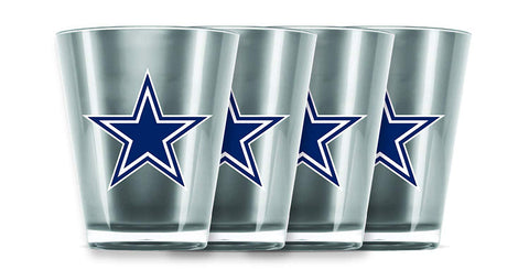 Dallas Cowboys Insulated Acrylic Shot Glass 4pc Set