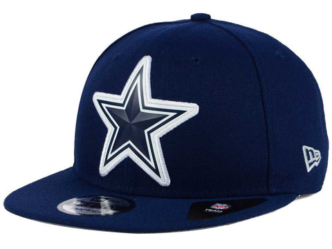 Dallas Cowboys Snapback New Era 9Fifty Bevel Navy Cap Hat