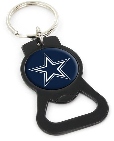 Dallas Cowboys Keychian Bottle Opener Black
