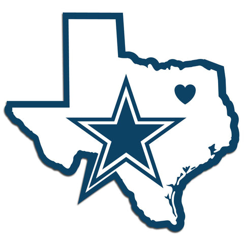 Dallas Cowboys Decal Home State