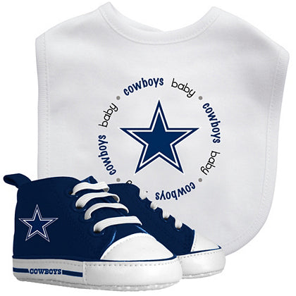 Dallas Cowboys Infant (0-6 Months) Bib & Pre-Walker 2-Piece Set