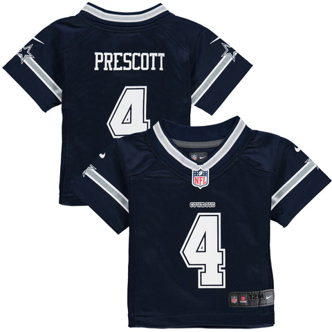 Dallas Cowboys Infant Jersey Dak Prescott Nike Navy